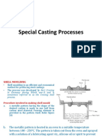 Shell Moulding and Investment Casting