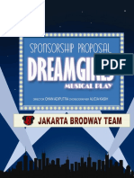 Proposal Dreamgirls Musical Performance
