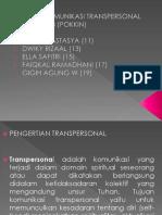 Komunikasi Transpersonal