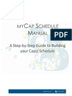 MyCap Schedule Manual