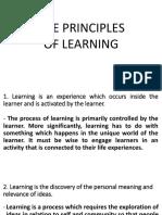 Principles of Learning Mak2