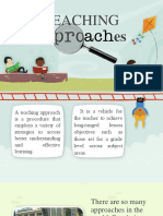 Teaching Approaches