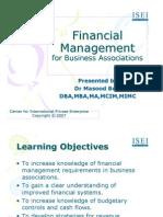 CIPE Financial Management for Business Associations