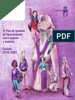 IGUALDAD | IV Plan de Igualdad de Oportunidades entre mujeres y hombres / Coslada 2019-2022