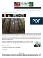 Il Codice Forestale Camaldolese candidato a Patrimonio Unesco