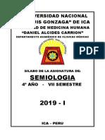 Semiologia Primer Semestre 2019