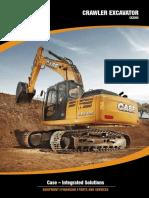 Brochure en Excavator CX220C