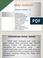 Modal Saham (Akm 2)Klmpk 11