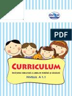 Curriculum ro