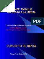 1 Concepto de Renta - TEORIA de RENTAS Postitulo de Renta [1] .07.2008