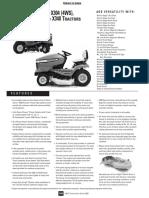 John Deere X300 Parts Manual