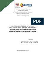 IFD Alta Gerencia y Dirección Organizacional. XXXIX-53. Autor Mariana y Jhossandra