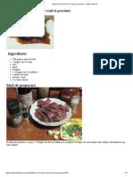 7. Friptură de Vită În Sos de Roşii La Presiune - Reţetă Culinară