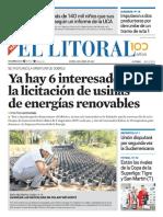 El Litoral Mañana 08-04-2019