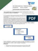 Comunicado Departamental Nª 3 de Soriano