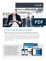 Kony Retail Banking Solutions Brief