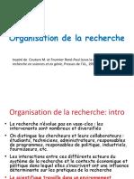 2 Organisation Recherche