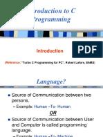 2-Turbo C Introduction