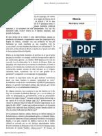 Información sobre la ciudad de Murcia