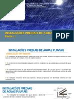 Instalações prediais de águas pluviais