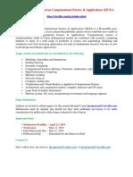 International Journal on Computational Science Applications IJCSA