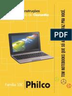 """Philco Netbook 10"""" - Certificado de Garantia"""