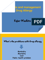 Diagnosis and Management of Drug Allergy