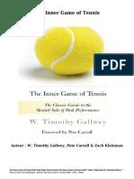 Gratis Boeken the Inner Game of Tennis