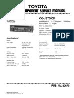 Panasonic Philips Cq-js7300k Toyota