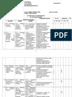 Planificare AMG I M X Comunicare