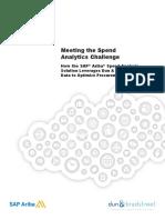 SAP Ariba Spend Analytics