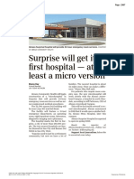 Surprise will get its first hospital — at least a micro version
