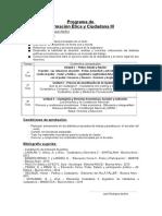 Programa Anual - FEyC 3º Año - 2019 - RodMun