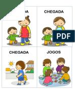 Rotina para crianças