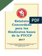 1 Estatuto Concordado Para Bases FTCCP 2017