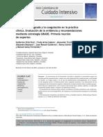 2016.Manejo Del Sangrado y La Coagulación en La Práctica Clínica. Evaluación de La Evidencia y Recomendaciones Mediante Estrategia GRADE