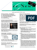 GCF Grace News - Nov. '10