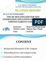 Thanh's Presentation - Graduation Report