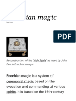 Enochian Magic - Wikipedia