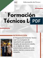Curso de Formación Técnicos Lean