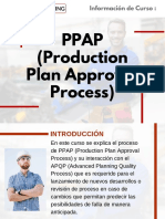 Curso PPAP (Production Plan Approval Process)