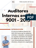 Curso Auditores Internos en ISO 9001 - 2015