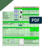 Distribution Transformer Calculations Spreadsheet