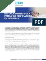 Reconocimiento Patología Respiratoria Pediatría