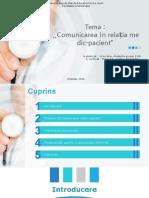 Comunicarea medic-pacient