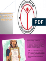 National Literacy Mission Ppt