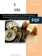 """The Growing Harm of the """"Do No Harm"""" Approach - A BitOoda White Paper"""