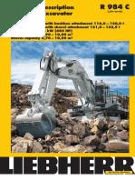 Heavy Equipment - Spek R984C