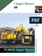Heavy Equipment - Spek PC8000