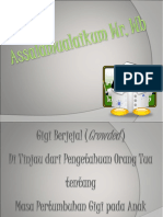powerpoint Gigi Berjejal baru .ppt